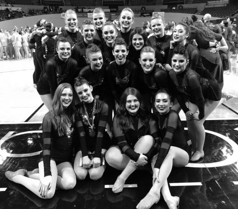 Dance team places 9th at state competition at Coliseum