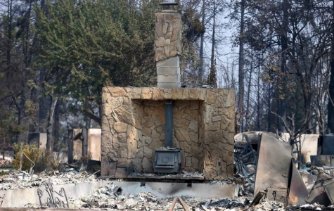 Porter's mother returned to the site of her home in Phoenix, Ore., to find only the chimney remained standing. The house was a total loss.