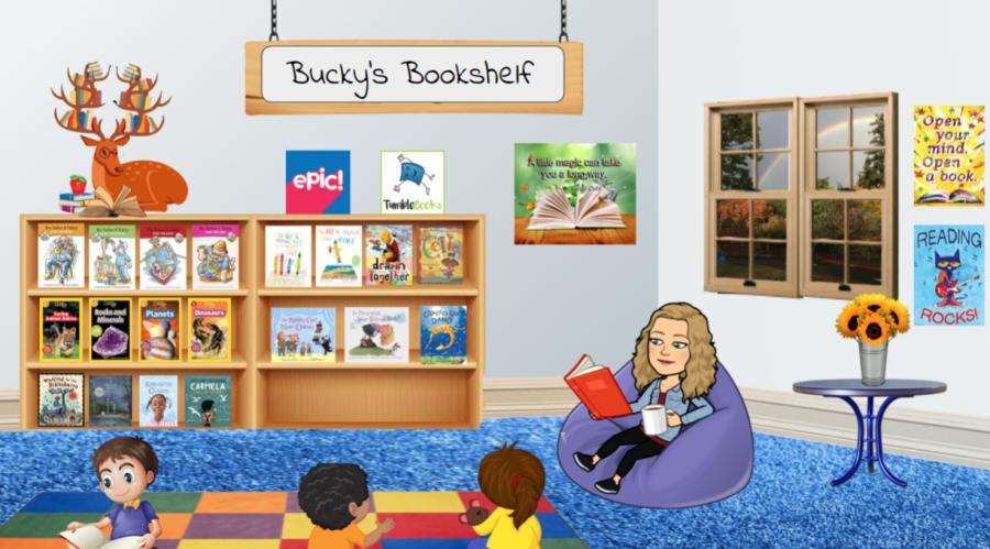 Elementary children find new adventures in virtual bookshelf