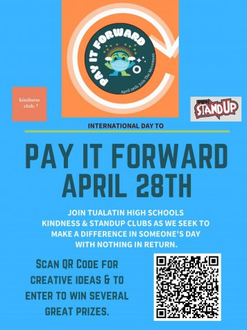 StandUp and Kindness Club celebrate international  Pay It Forward Day